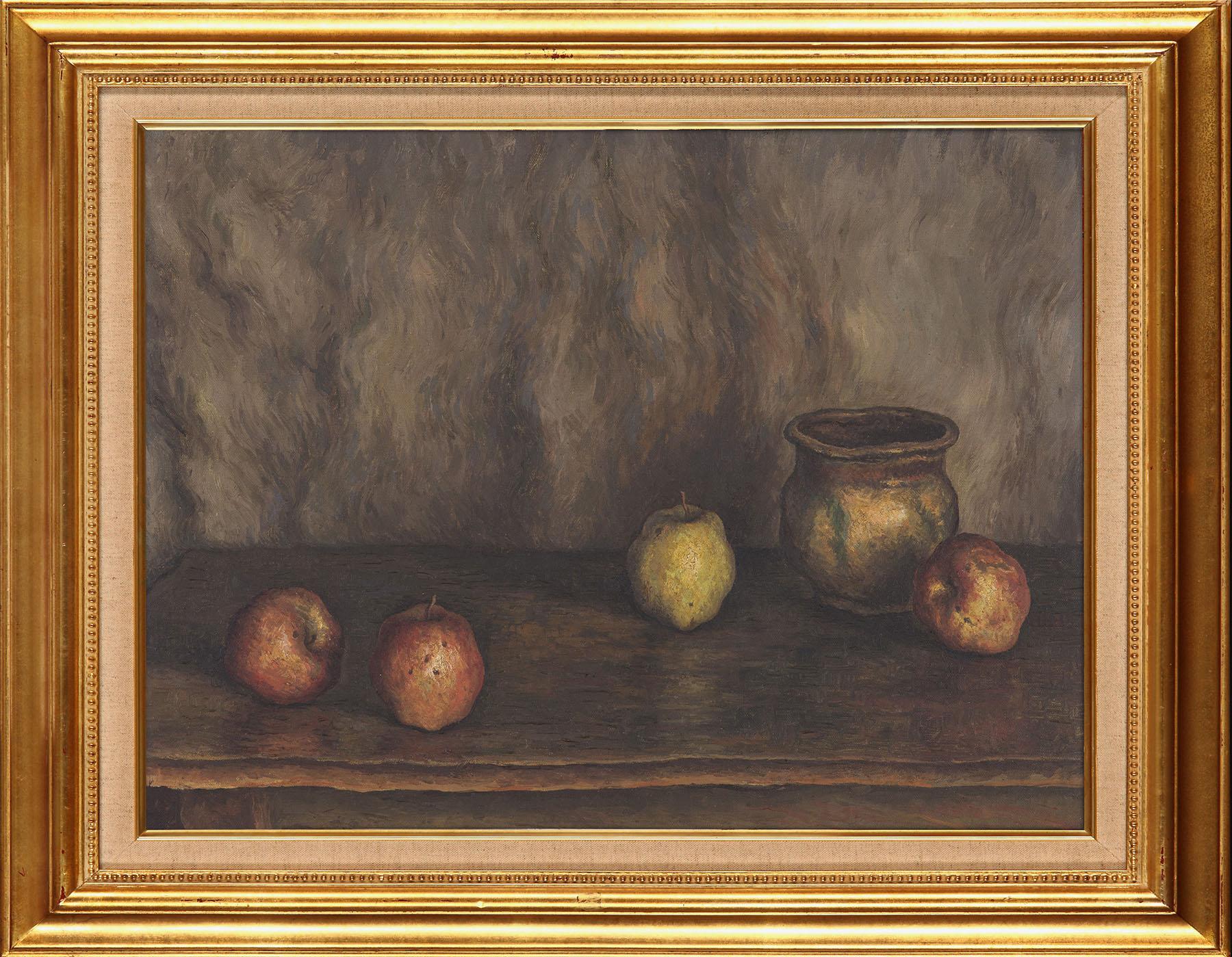 壺とりんご