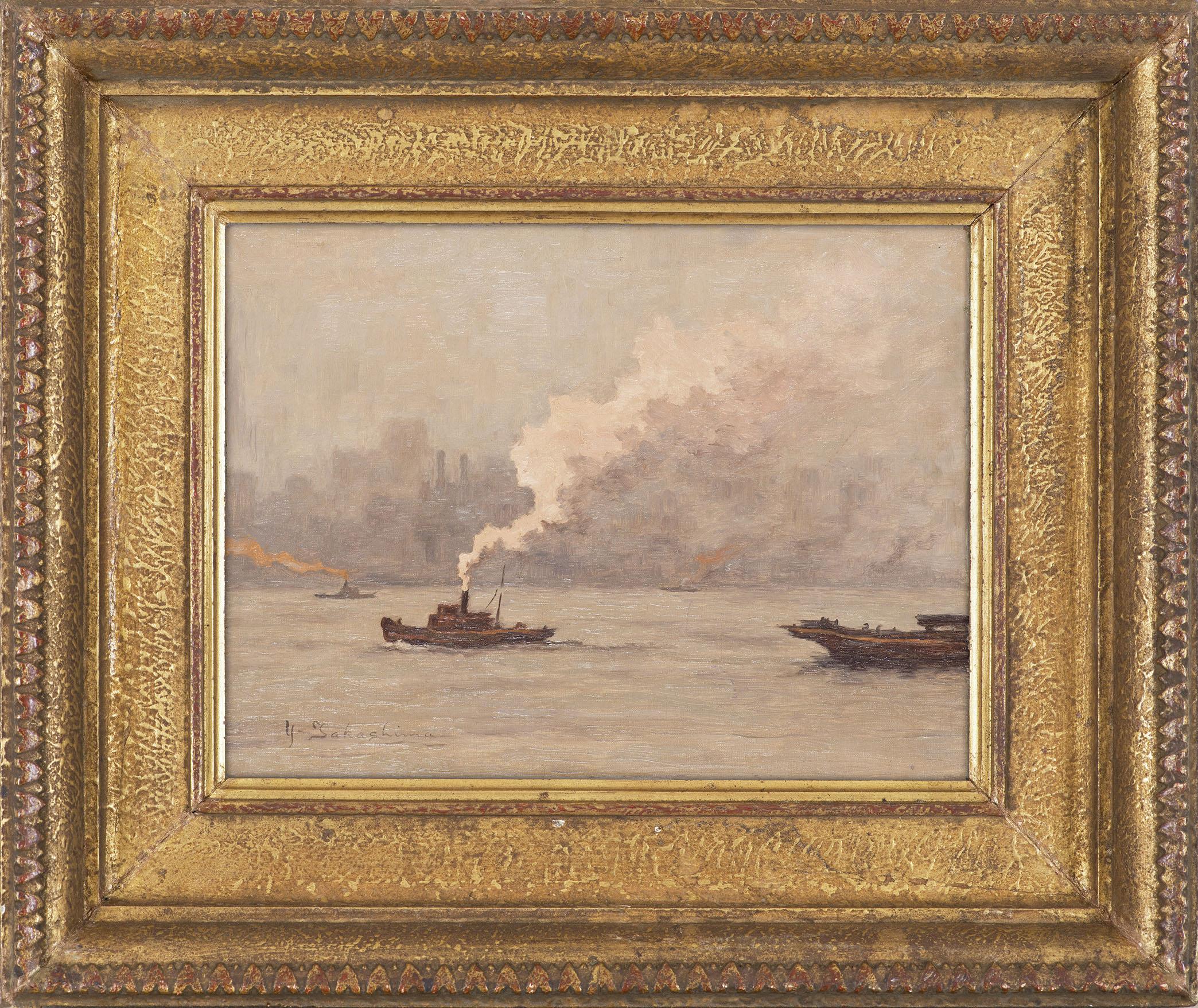 霧と煙のニュウヨーク