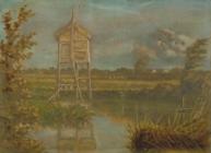 河辺の風景